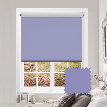 Purple Plain Multiple Roller Blind Deal | Carnival Blackout Iris FR / Antibacterial